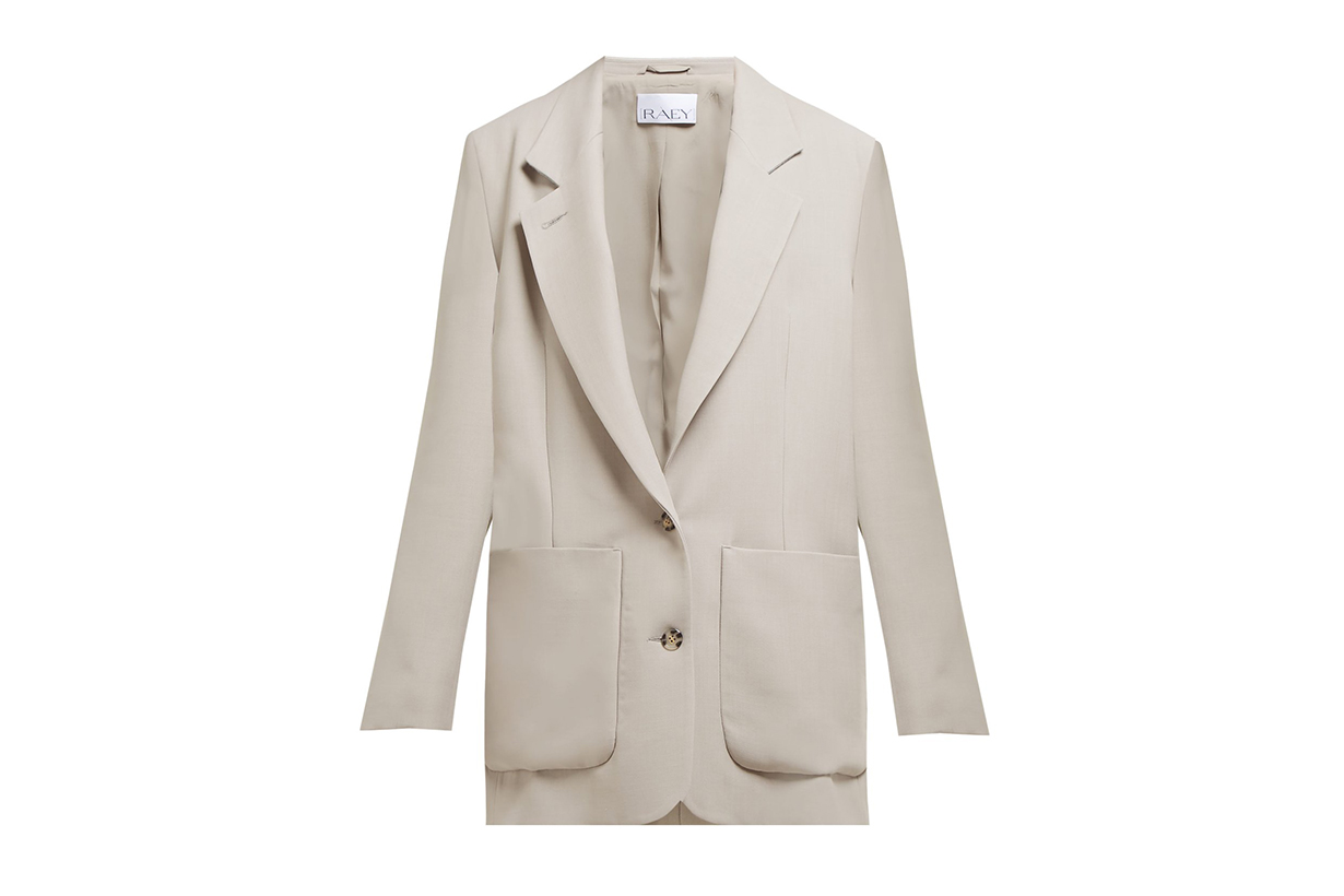 Raey Relaxed-Fit Wool-Blend Blazer