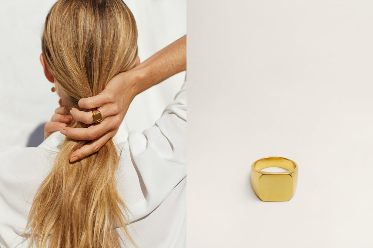 Mango's New Gold Jewelry Collection Was Made To Be Instagrammed (& It's All Under $50)