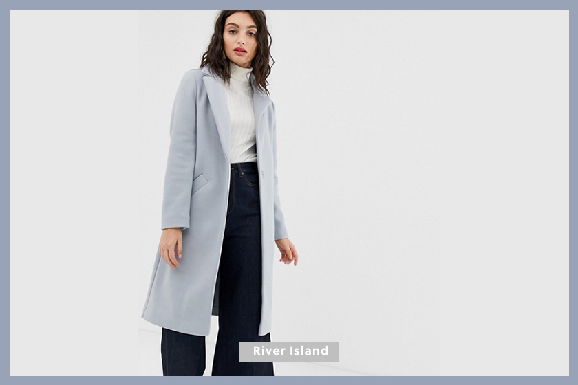 River Island tailored coat