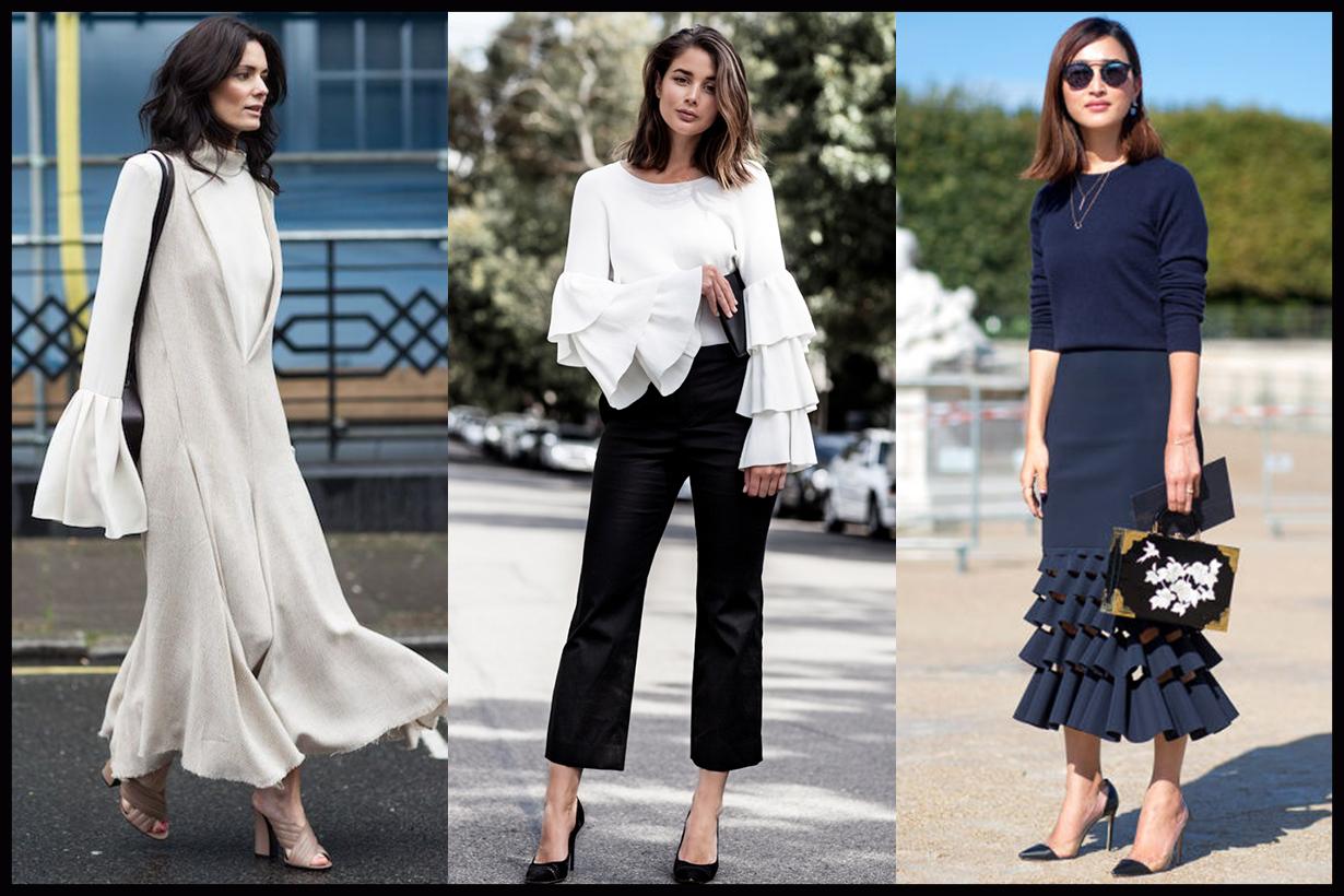 Ruffle Dress Street Style