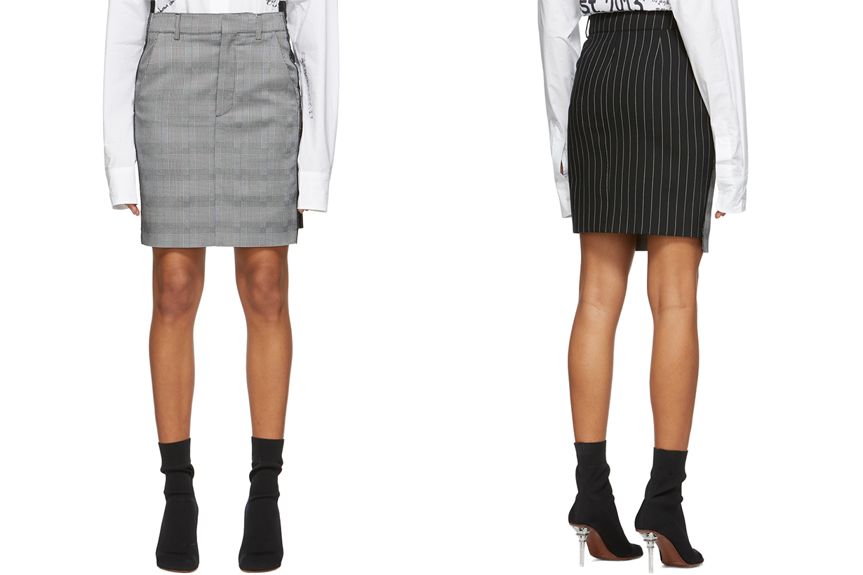 vetements skirt