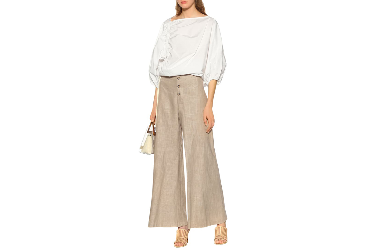 STAUD-Martin-wide-leg-linen-blend-pants