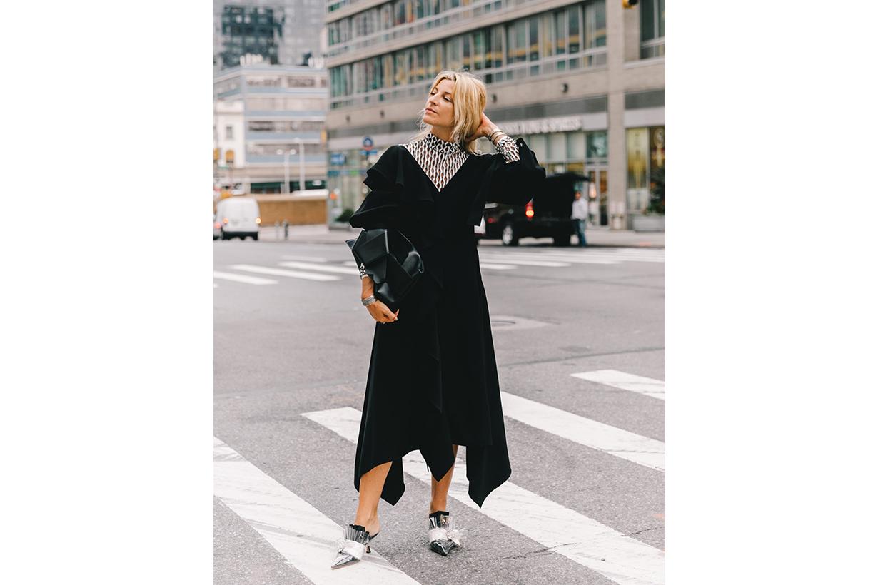 MIDI Dress Street Style