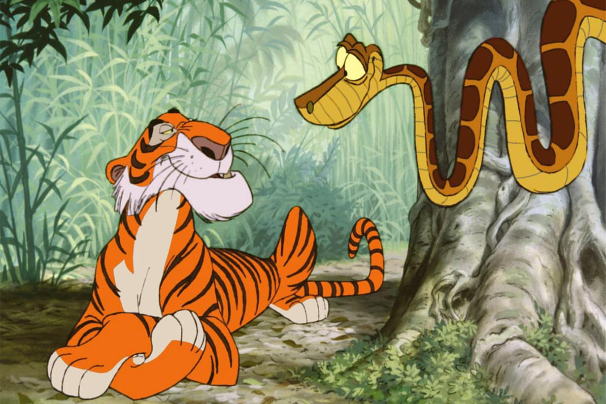 Shera Khan and Kaa the jungle book