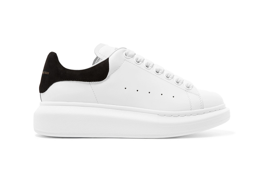 Alexander McQueen oversized sole sneakers BEST SELLING SNEAKERS 2019 LYST