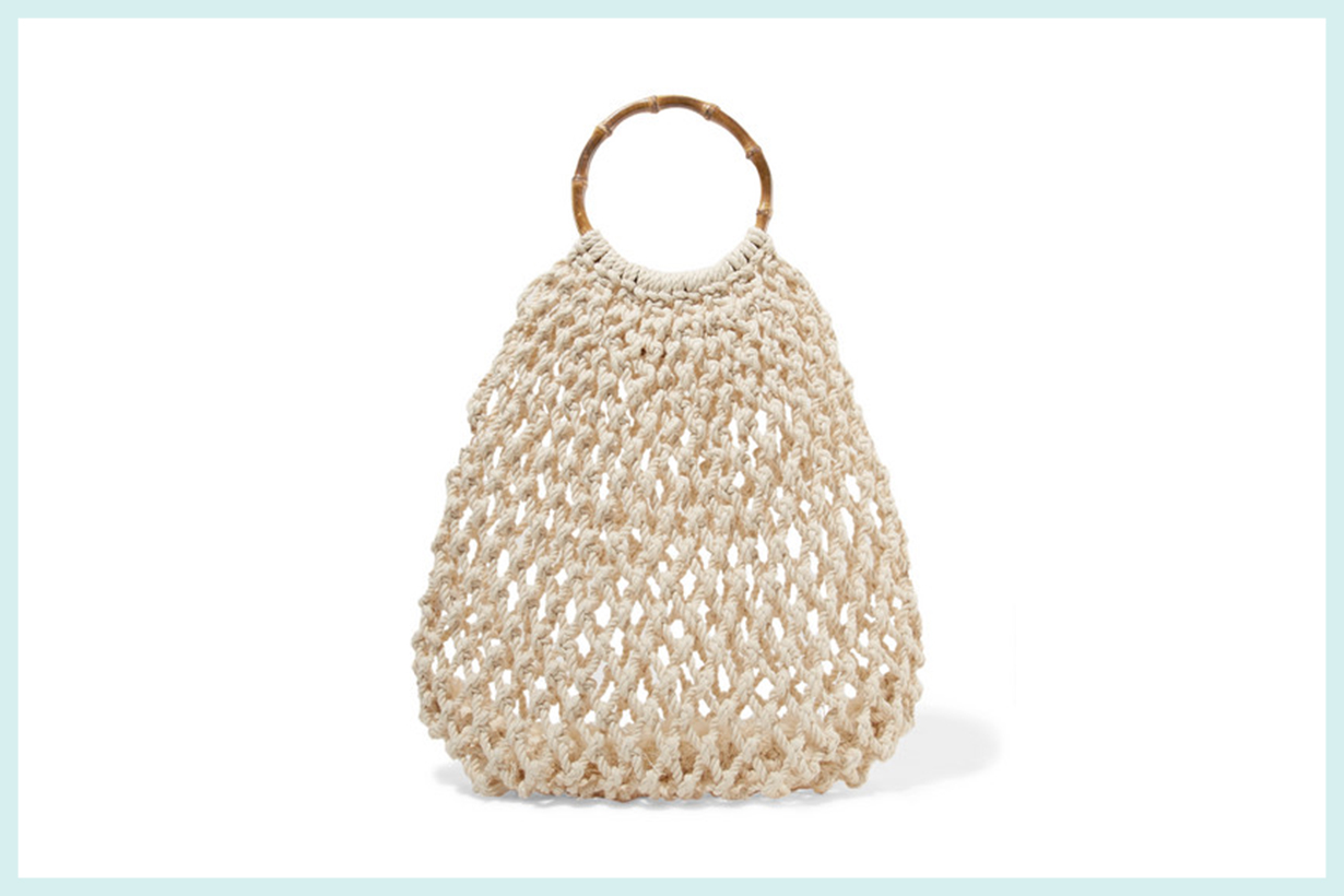 Andie Woven Cotton Tote