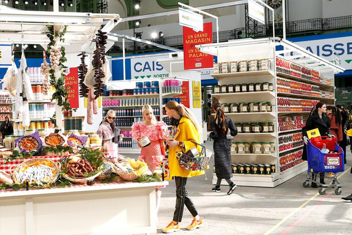 Chanel fall/winter 2014 Supermarket