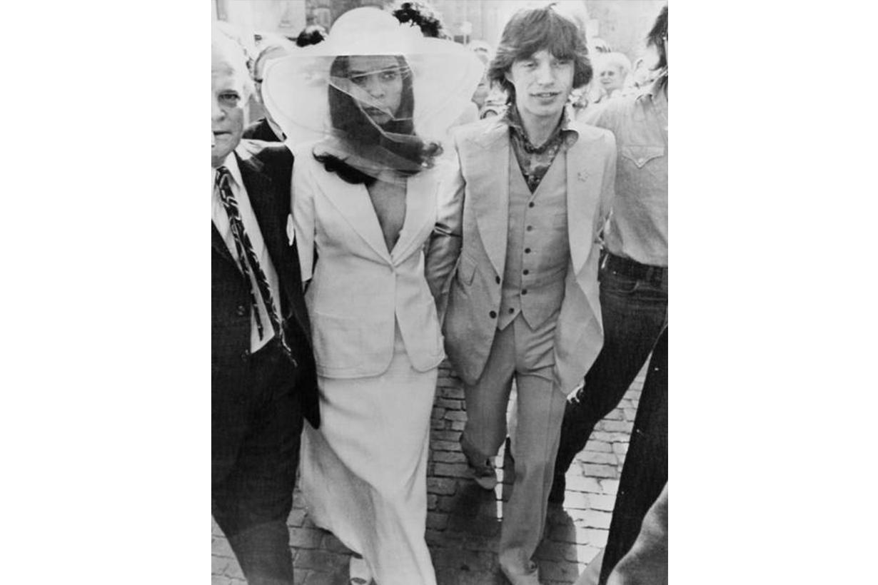 Bianca Jagger Mick Jagger Wedding