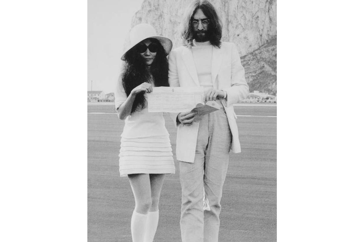 Yoko Ono John Lennon Wedding