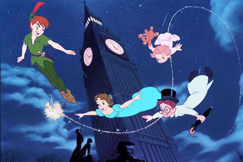 disney upcoming live action movies Peter Pan