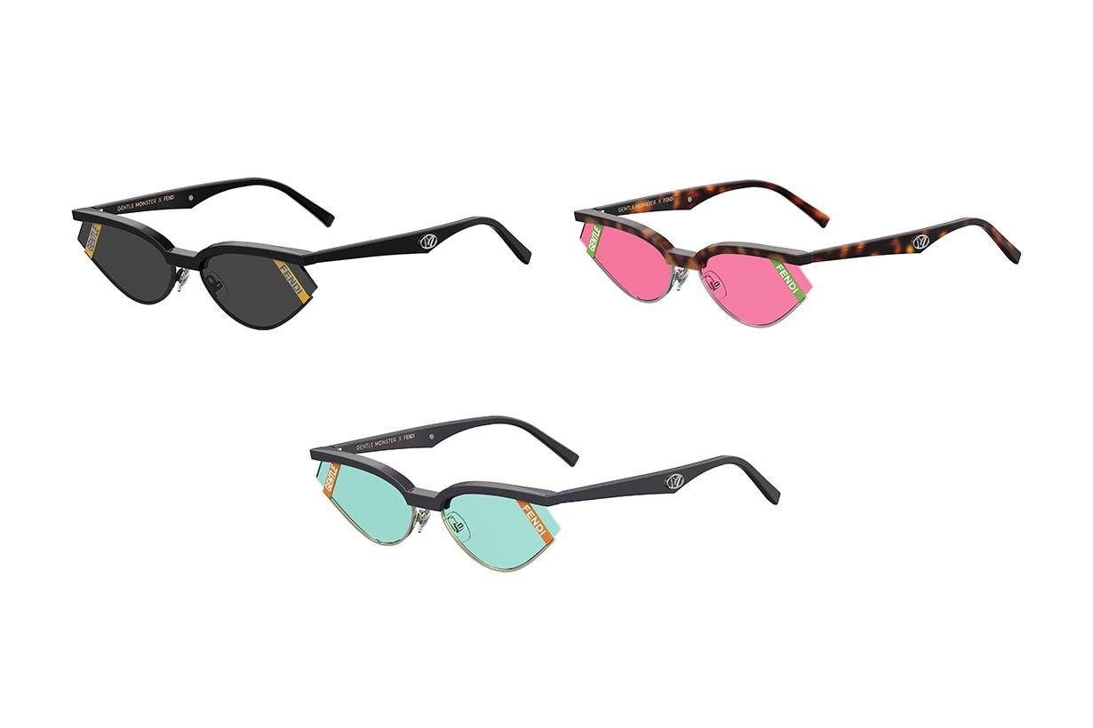 fendi gentle monster sunglasses 2019 collabration