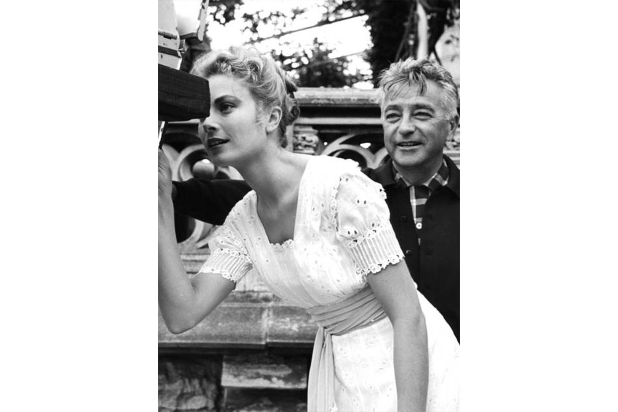 Grace Kelly White Dress Elegant