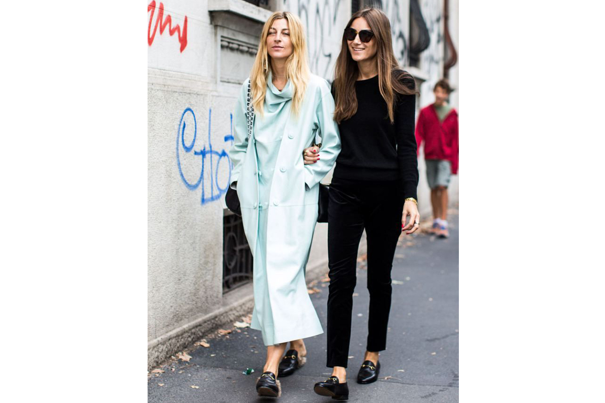 Gucci Loafers Street Style