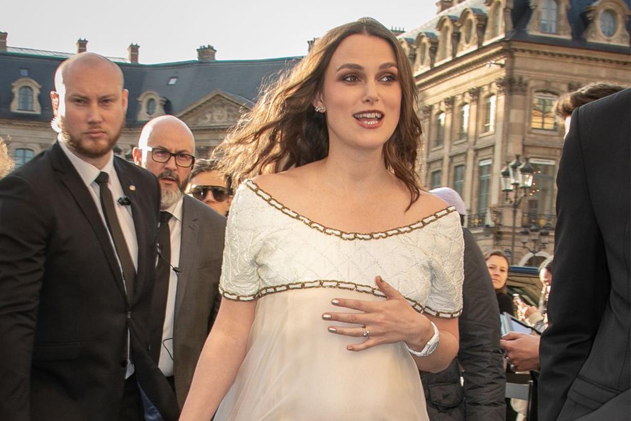 Keira Knightley Pregnant Chanel