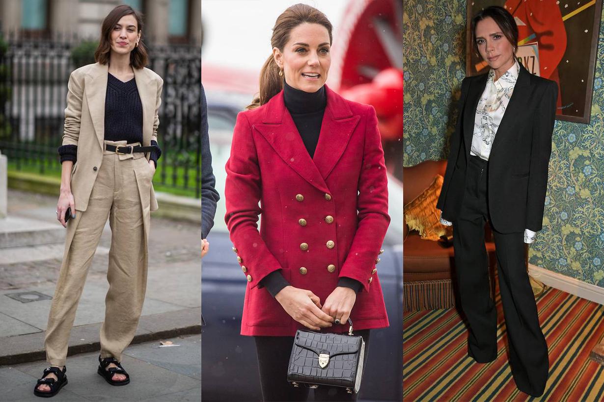 Victoria Beckahm Kate Middleton Alexa Chung Suit