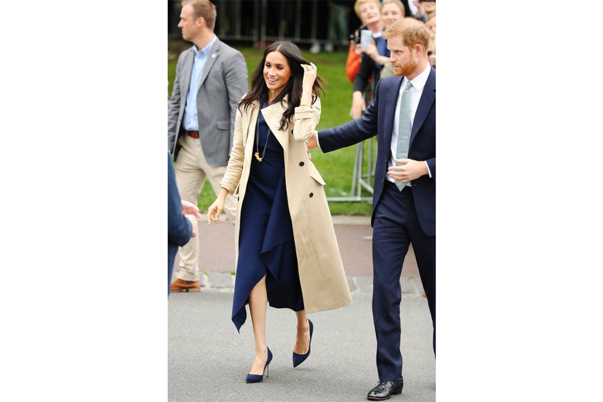 Meghan Markle Trench Coat