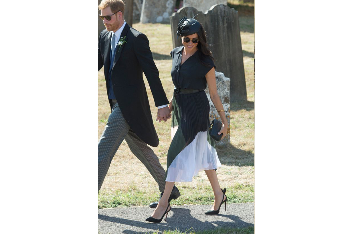 Meghan Markle Wedding Guest MIDI Dress