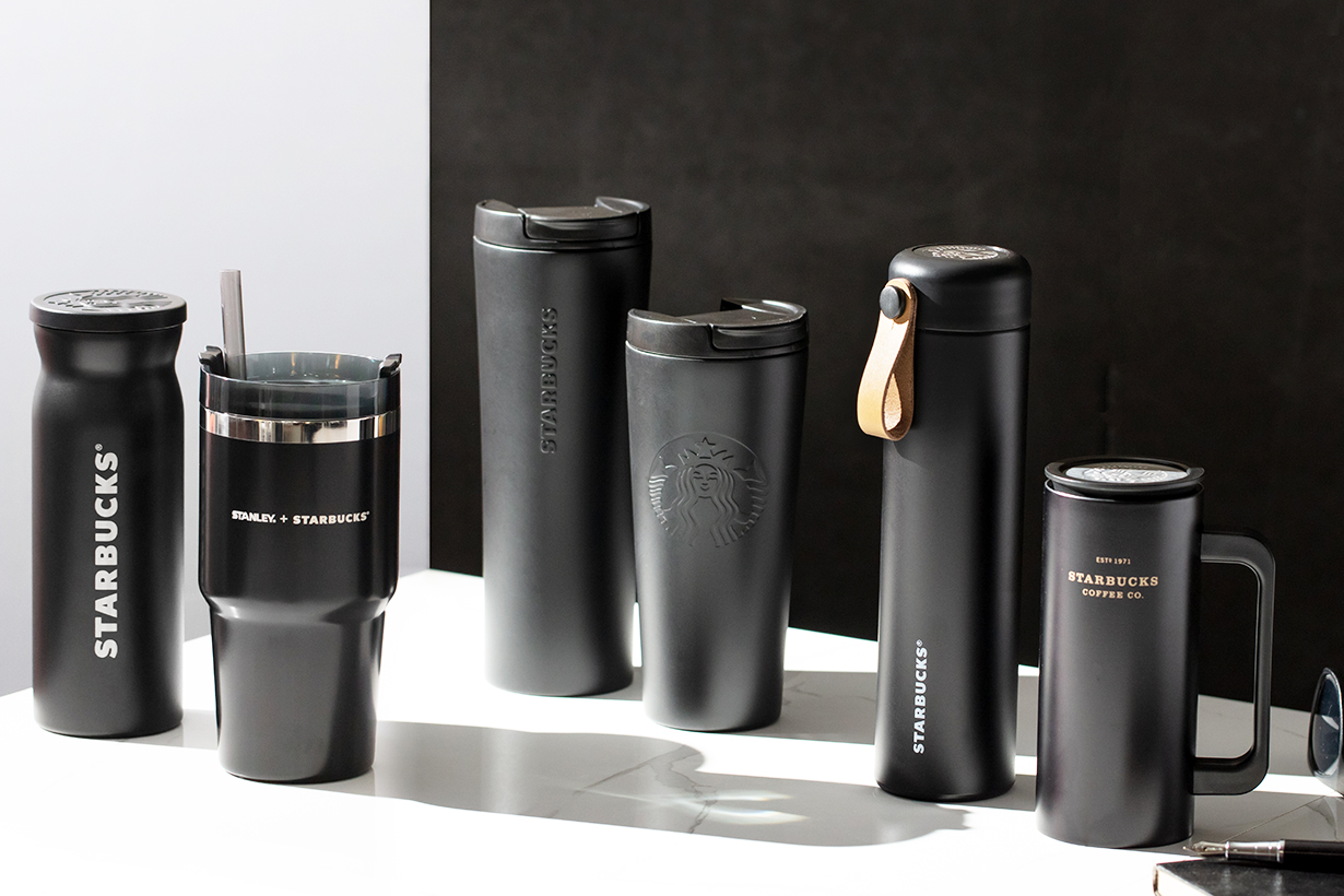 starbusck black mug cup