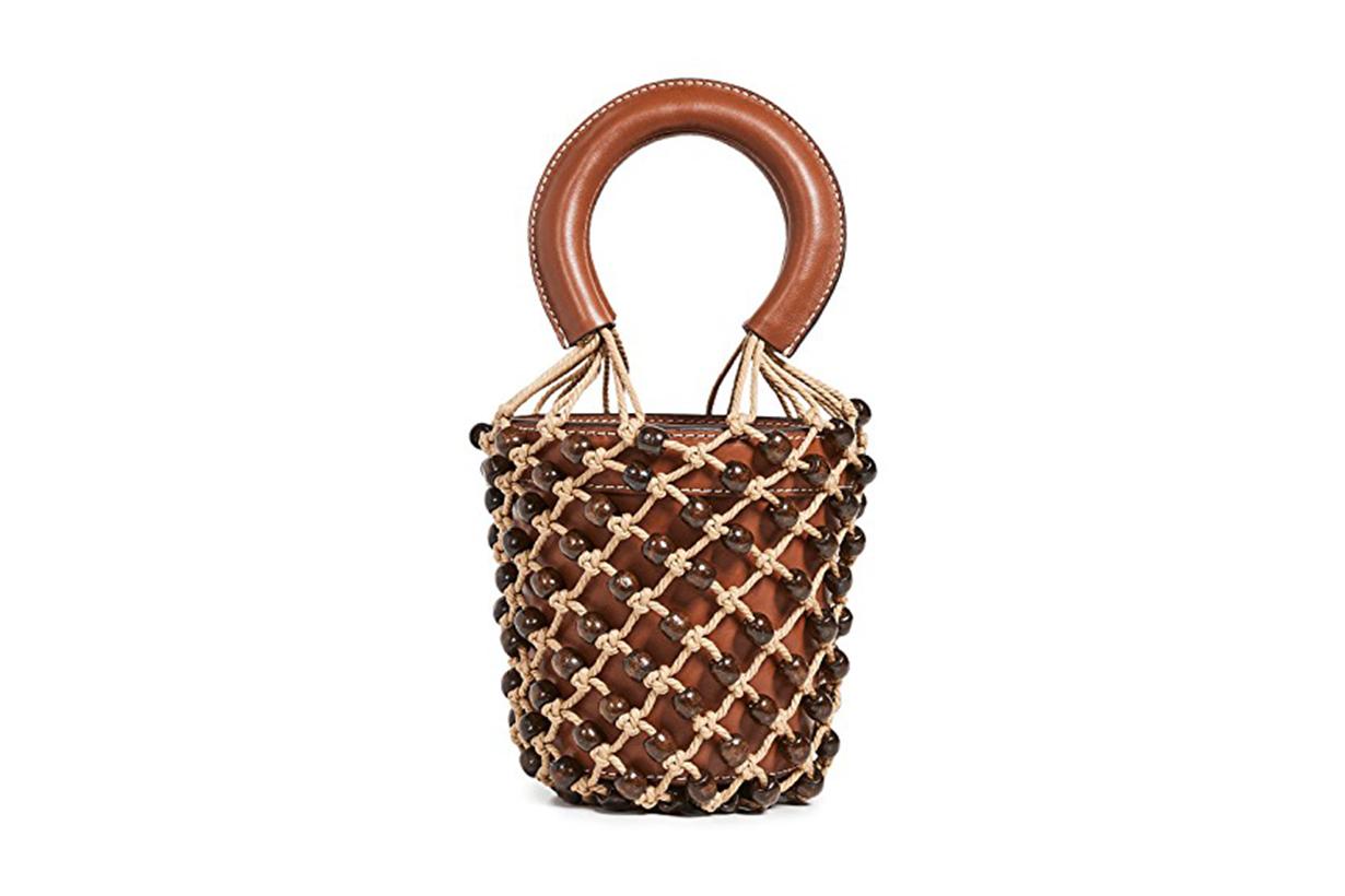 STAUD Mini Beaded Moreau Bag