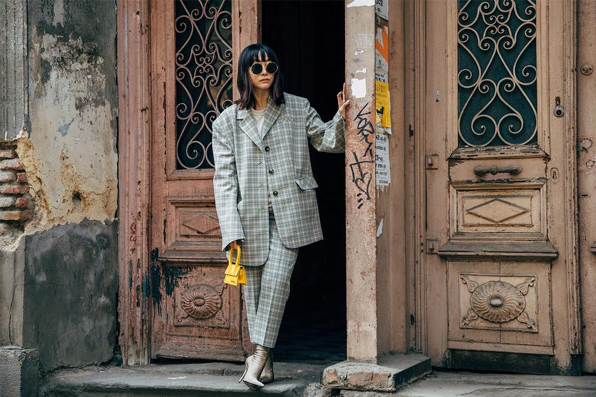 Blazer Suit Street Style