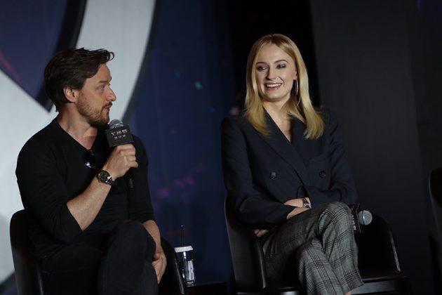 X-Men: Dark Phoenix Sophie Turner James Mcvoy