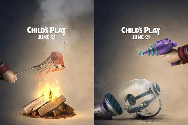 horror film Child's Play Toy Story Fun Movie poster
