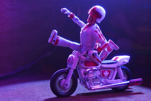 Keanu Reeves Toy Story 4 Duke Caboom