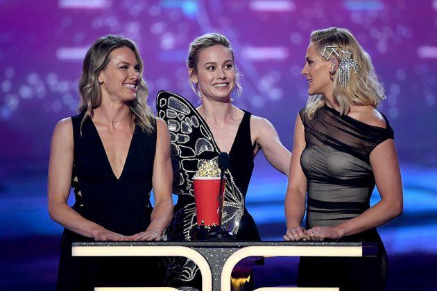 Captain Marvel Brie Larson MTV Awards