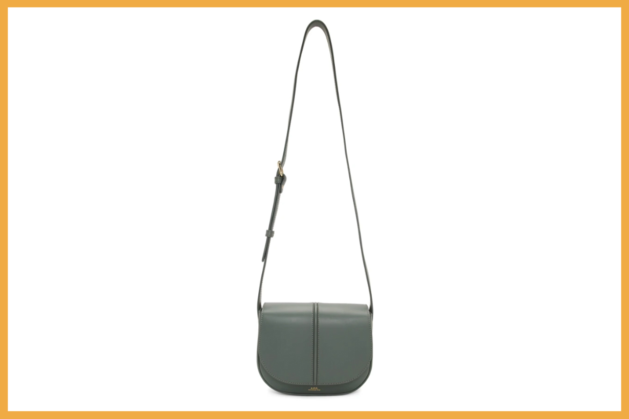 A.P.C. Grey Betty Bag