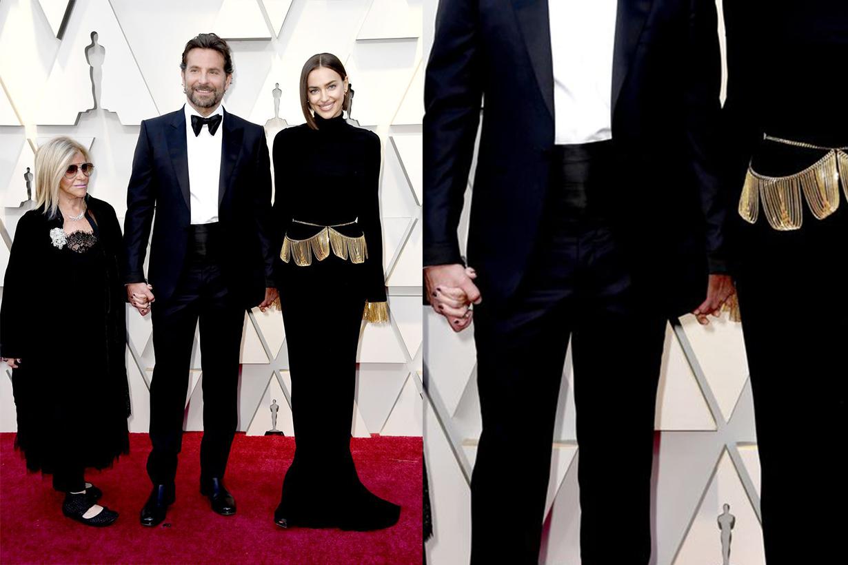 Bradley Cooper Irina Shayk Oscar 2019 Red Carpet