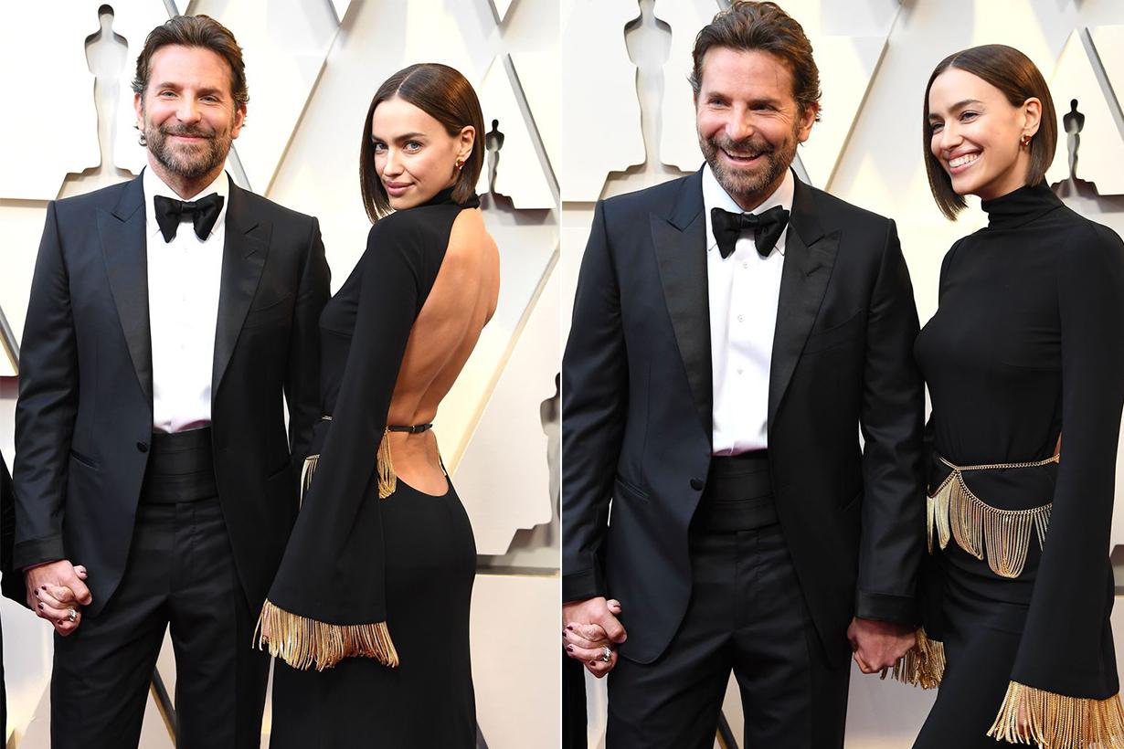 Bradley Cooper Irina Shayk Red Carpet Oscars 2019
