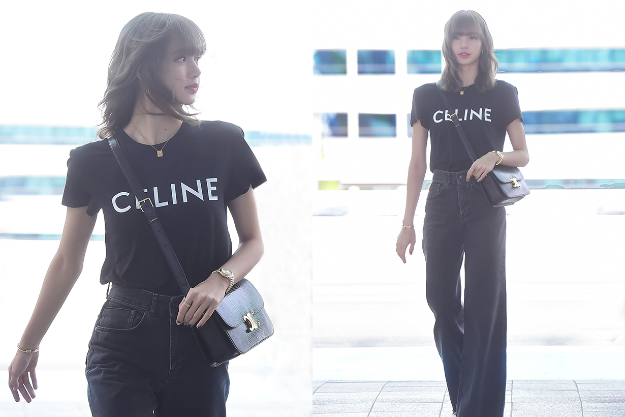 Celine Blackpink Lisa Airport 2019