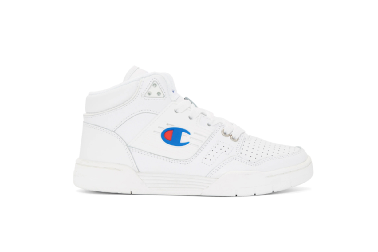 Champion Reverse Weave White 3 On 3 Sneakers