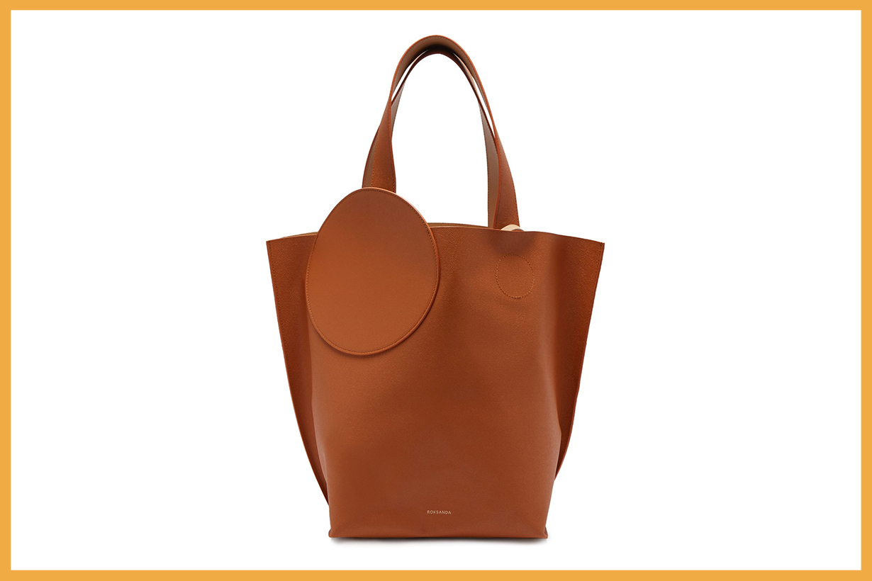 Eider Pebbled-Leather Tote