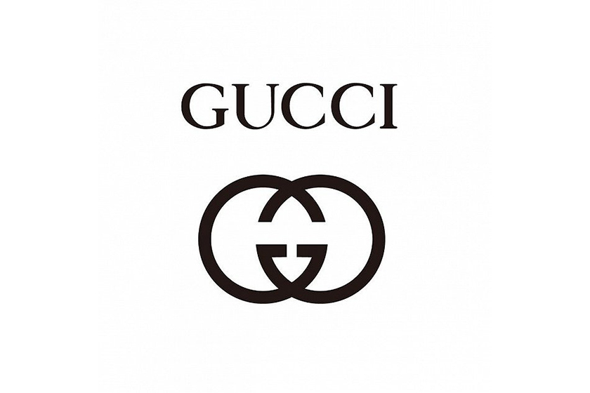 Gucci new logo design on Twitter
