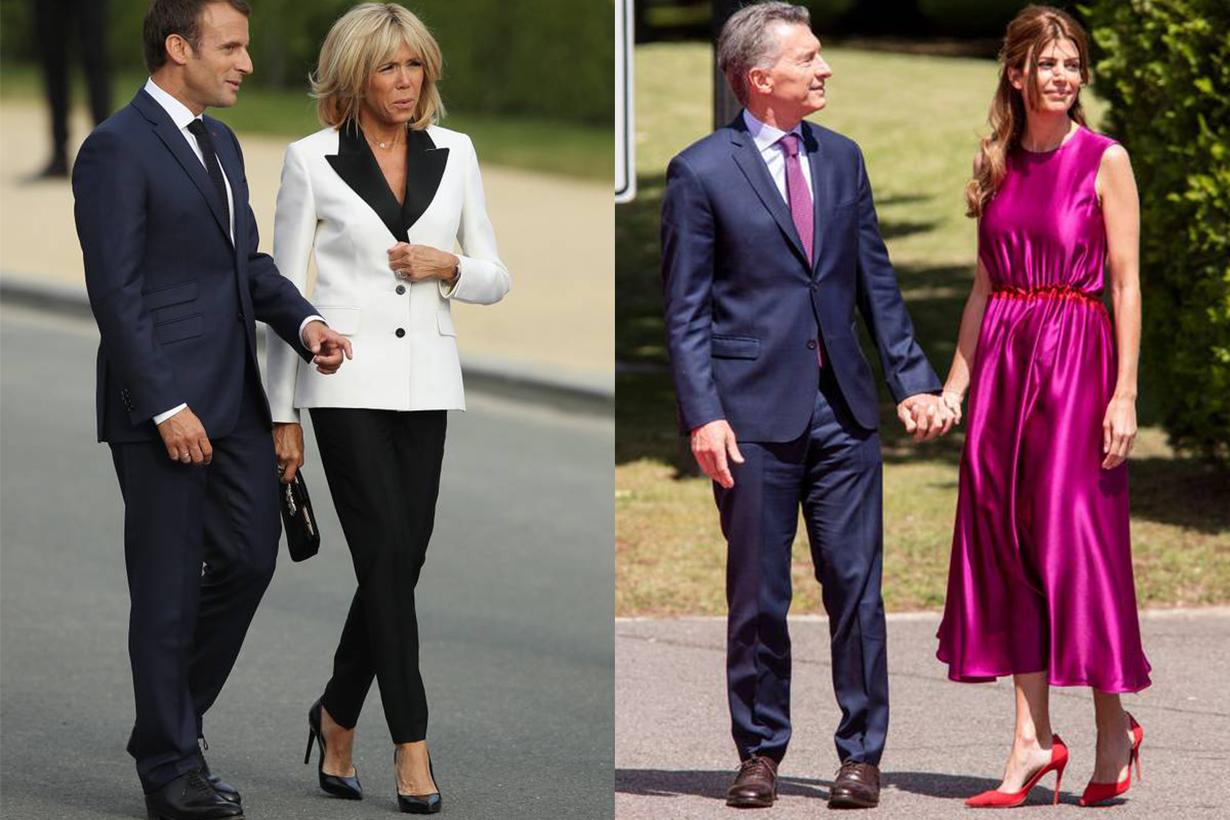Brigitte Macron, Juliana Awada Style
