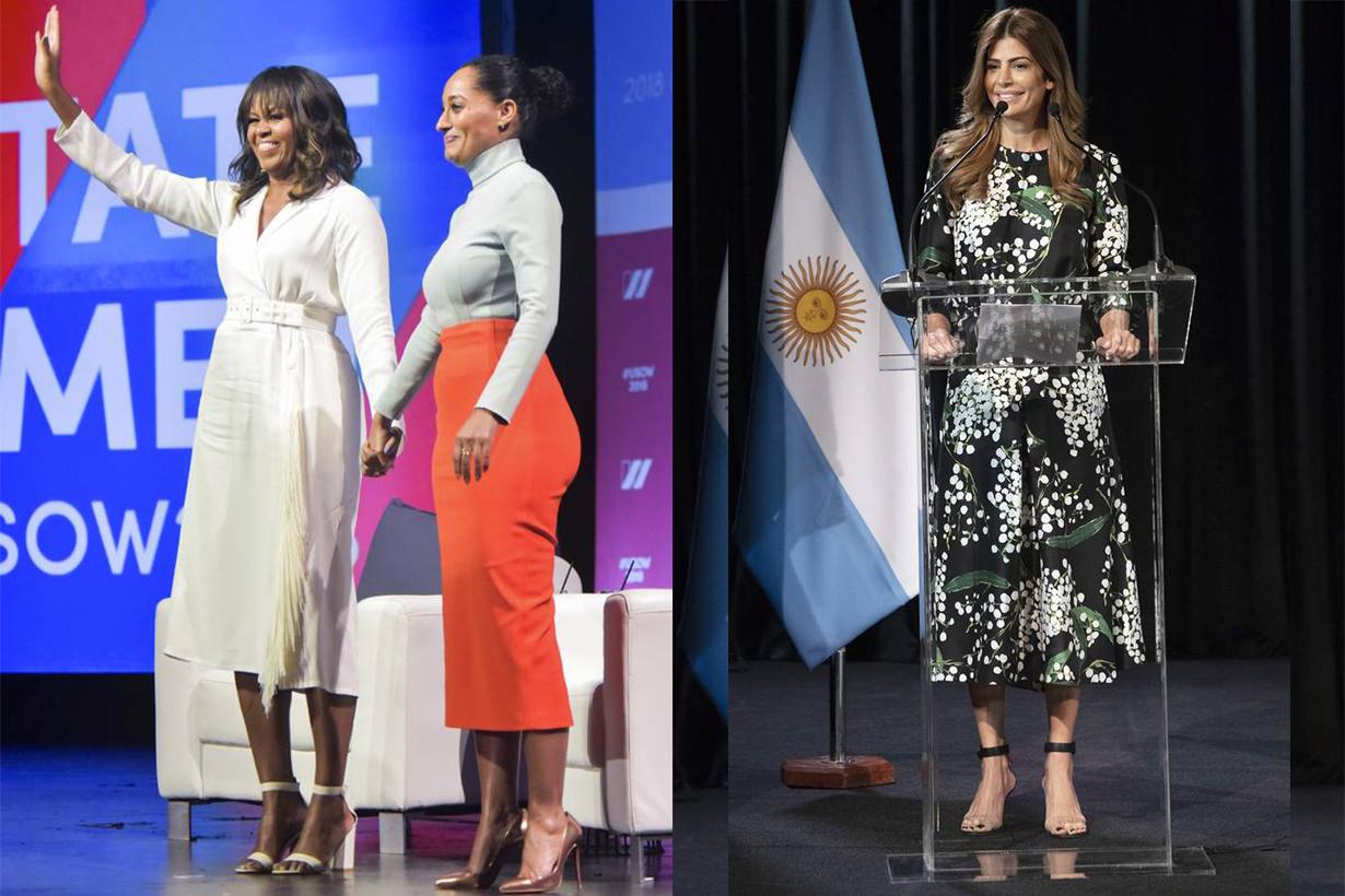 Michelle Obama, Juliana Awada Style