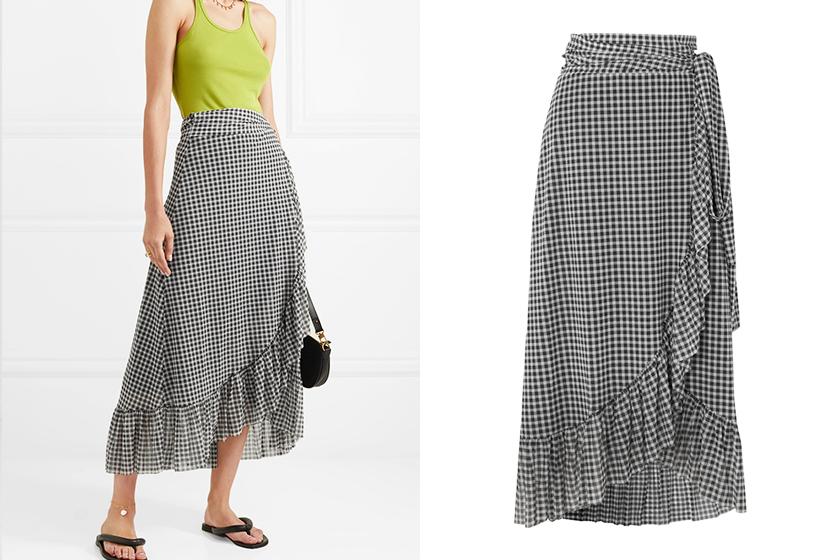 slit skirts street style summer trend