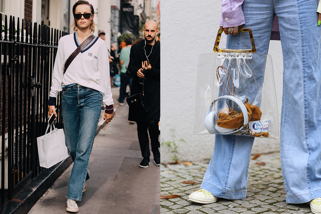 converse and jeans women street style