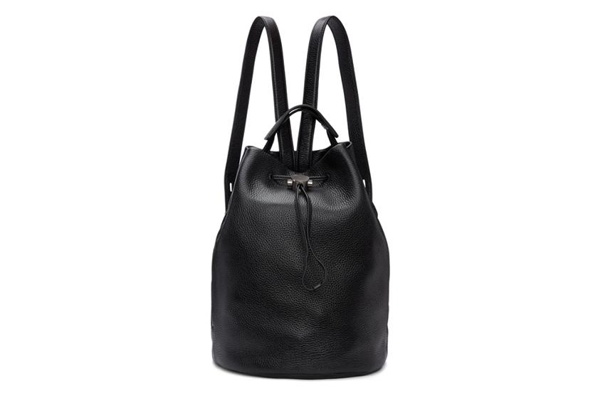 Kara Black Moon Drawcord Backpack