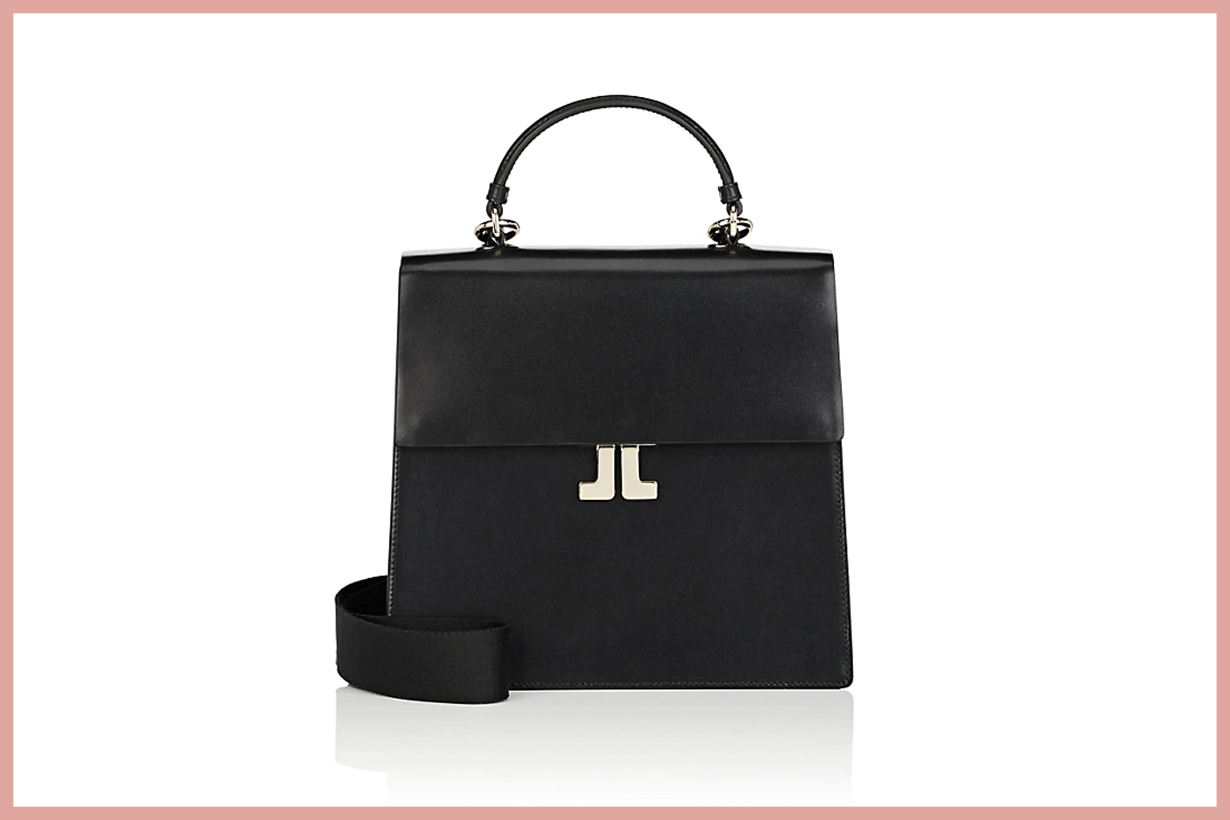 LANVIN JL Leather Convertible Backpack