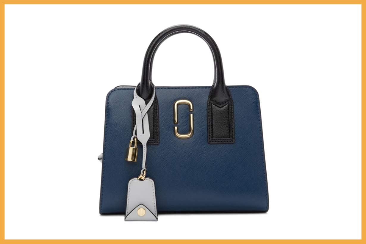 Marc-Jacobs-Blue-&-Black-Little-Big-Shot-Bag