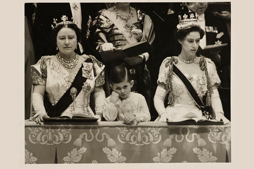 Prince Charles Queen Elizabeth Coronation service