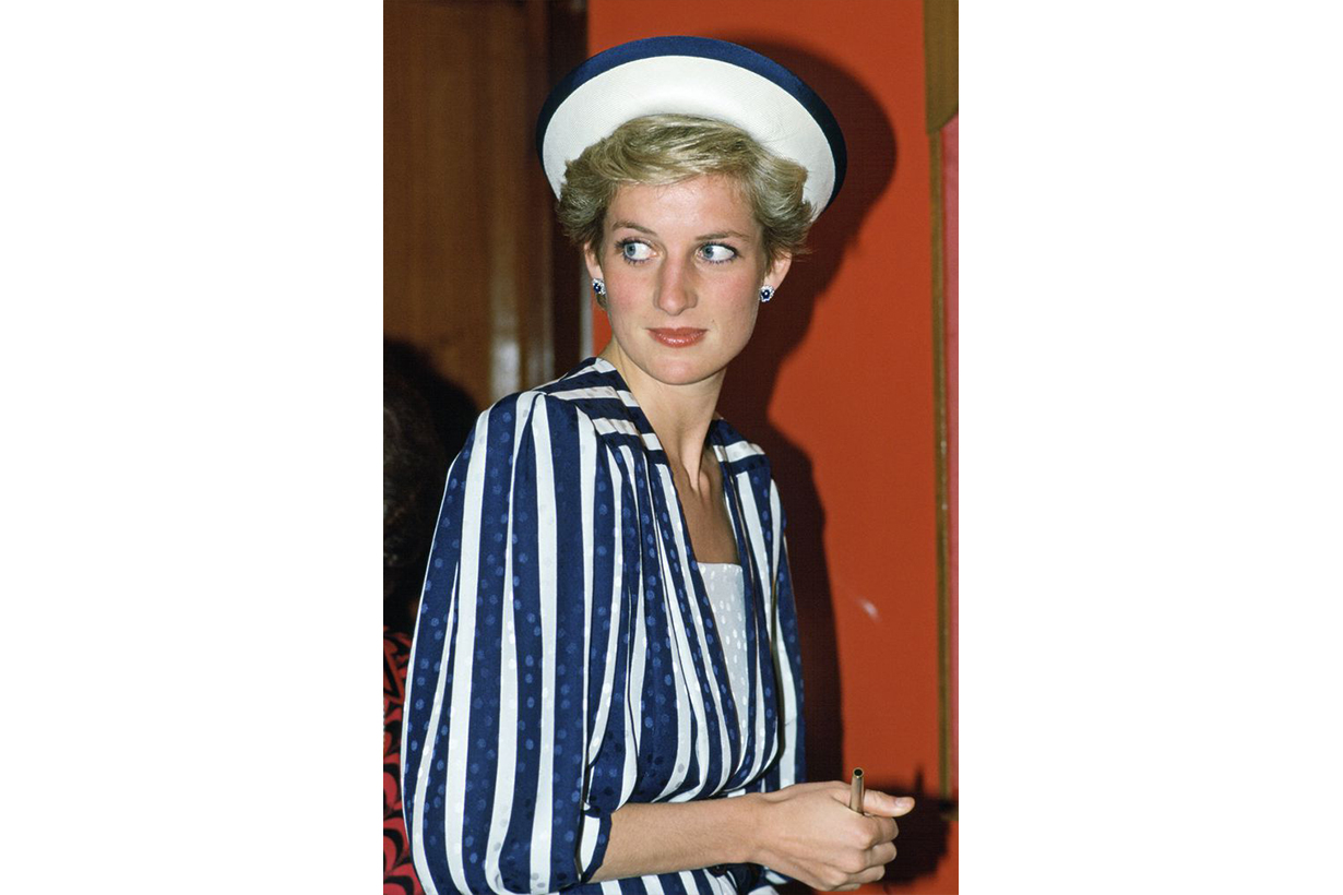 David and Elizabeth Emanuel Dress Bahrain Visit Princess Diana with Prince Charles in 1986