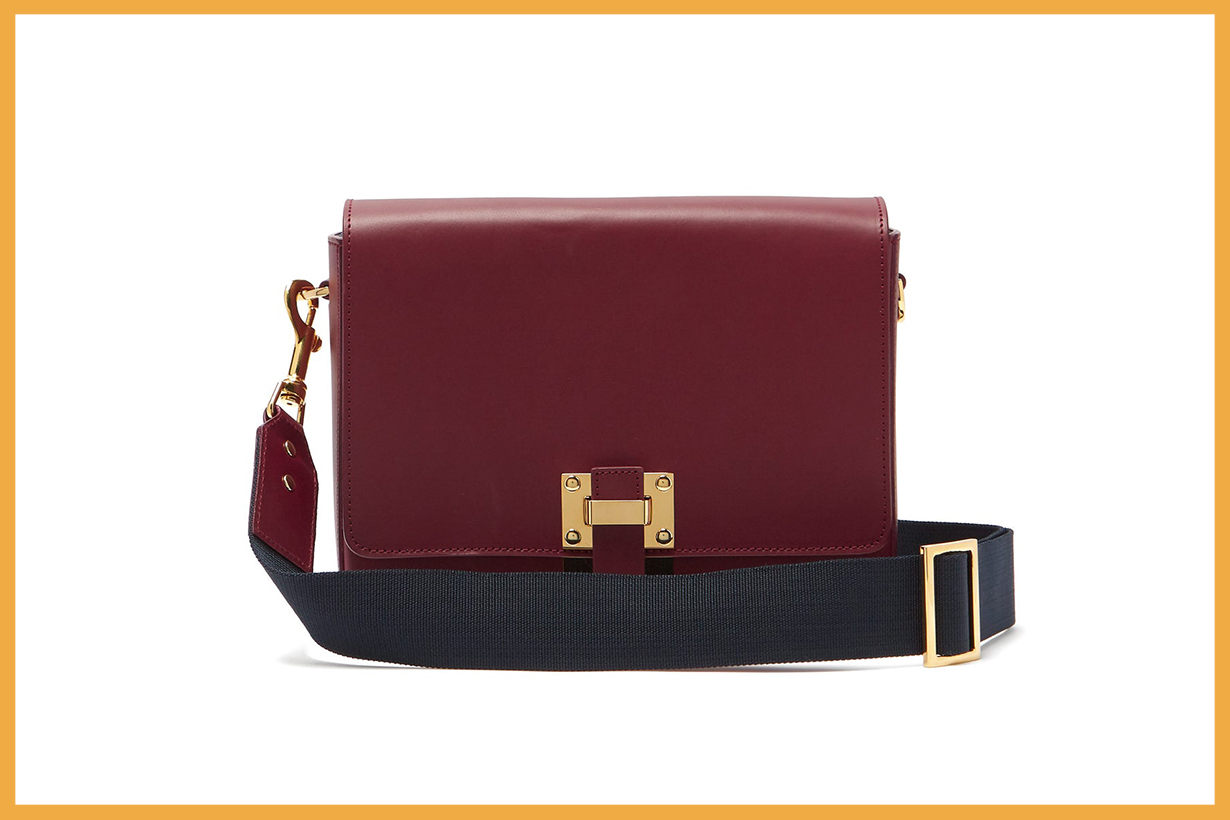 Quick Small Leather Cross-Body Bag