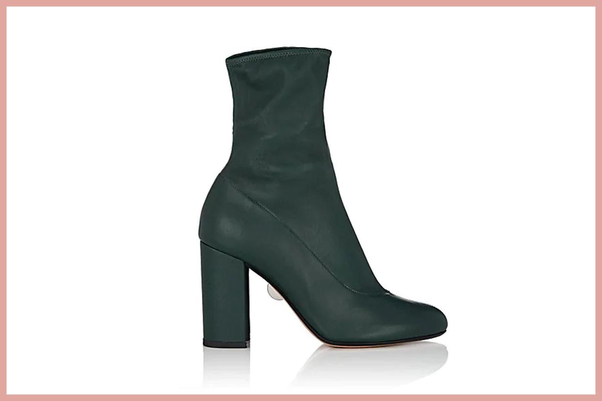 SAMUELE FAILLI Bea Leather Ankle Booties