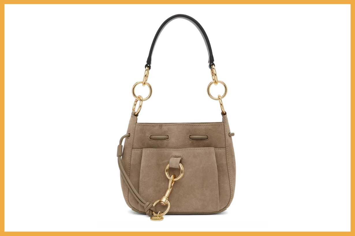 See by Chloé Brown Small Tony Bag