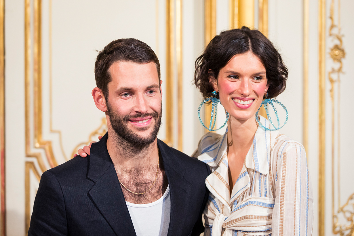 Simon Porte Jacquemus Fashion Show Backstage
