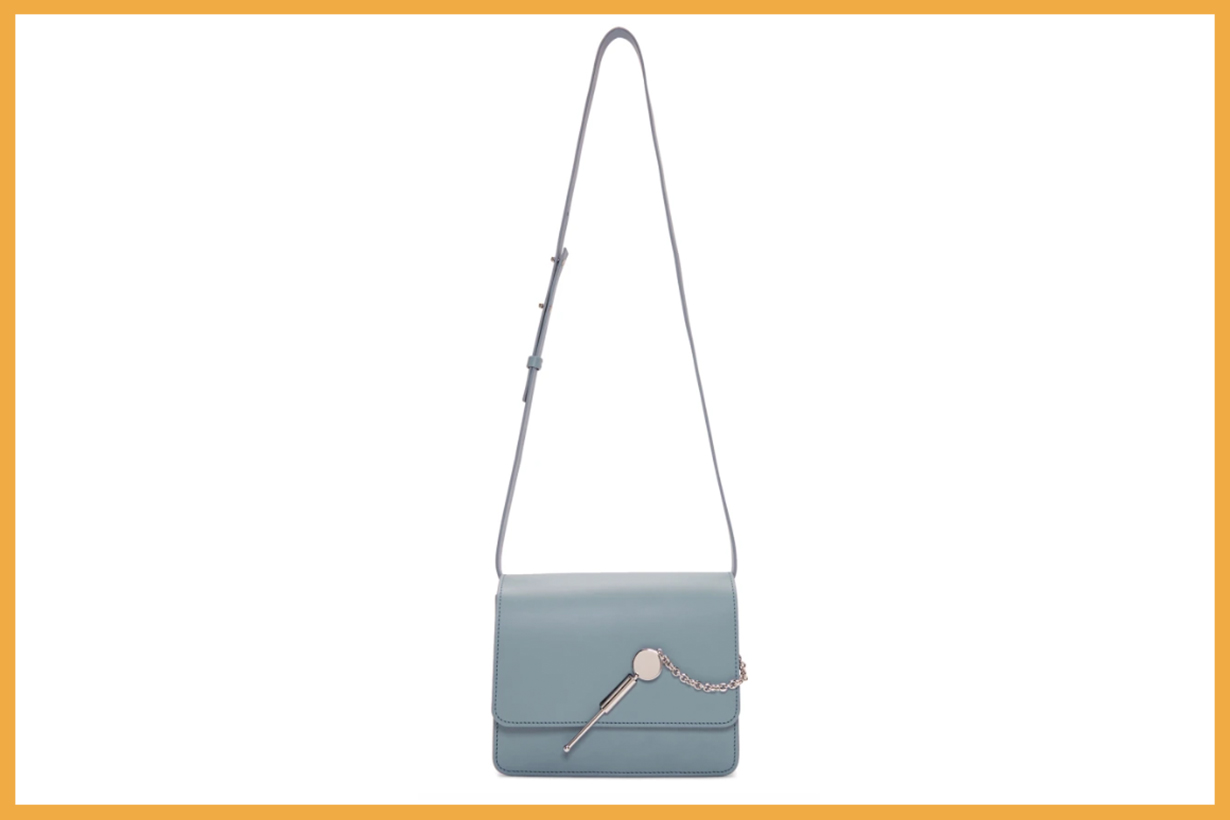 Sophie Hulme Blue Large Cocktail Stirrer Bag