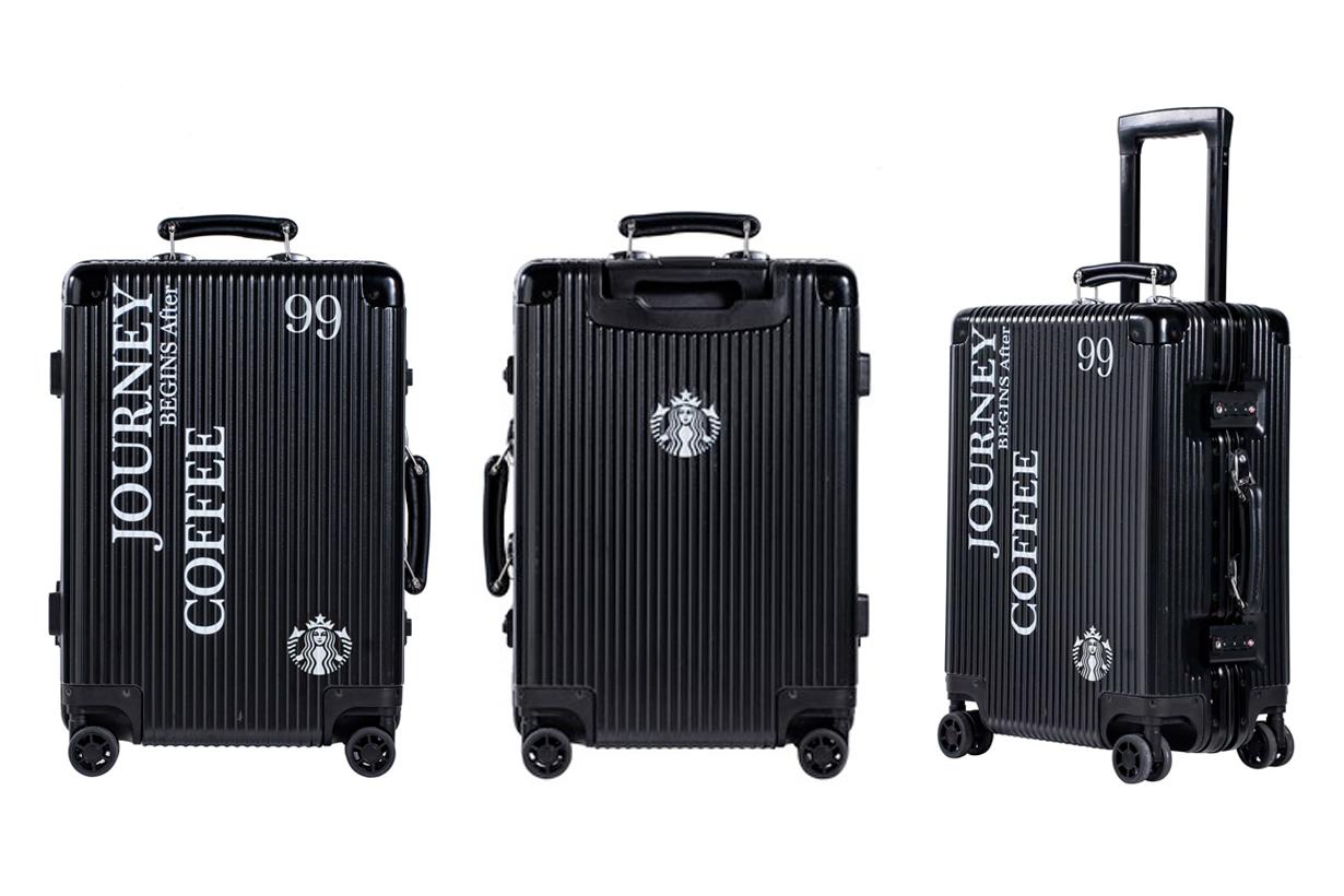 starbucks suitcase luggage limited coffee journey 2019 taiwan